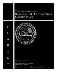 Riverwalk Plan - City of Peabody