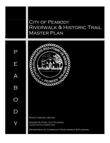 Riverwalk Plan - City of Peabody