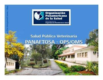 Modalidades de apoyo de PANAFTOSA a las actividades de ...