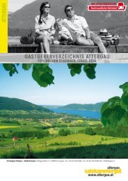 Als PDF ansehen - Attergau - Salzkammergut