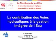 Présentation de Paul DEWIL - Conseil économique et social de la ...