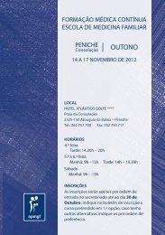 Programa - Associação Portuguesa de Medicina Geral e Familiar