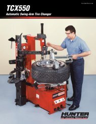 TCX550 Automatic Swing-Arm Tire Changer