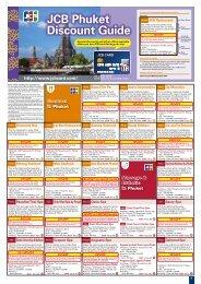 JCB Phuket Discount Guide