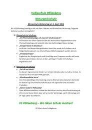 Volksschule Pöllauberg Naturparkschule VS Pöllauberg – Wo Ideen ...