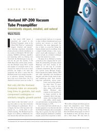 Hovland HP-200 Vacuum Tube Preamplifier - Jason Diffusion