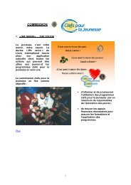 Clefs pour la Jeunesse - Lions Clubs International - MD 112 Belgium