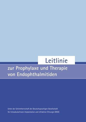 Leitlinie - Deutschsprachige Gesellschaft für Intraokularlinsen ...