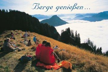 Berggenuss - München und  Oberland