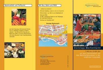 Dienstags-Wochenmarkt - Friedrichshafen
