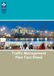 Traffic Management Plan Fact Sheet - Fremantle Ports