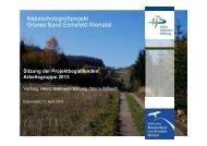 Präsentation aus der PAG 2013 - Heinz Sielmann Stiftung (PDF