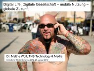 Digital Life: Digitale Gesellschaft – mobile Nutzung – globale Zukunft
