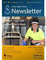 No 4 Newsletter March 2013 - Junee High School