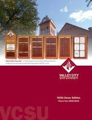 VCSU Donor Edition - Alumni Association - Valley City State University