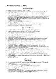 Bedienungsanleitung TEM 902