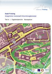 Stadt Freising Integriertes Innenstadt-Entwicklungskonzept Teil A ...