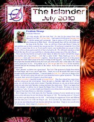 July 2010 - Clear Lake Shores Civic Club