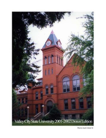 Valley City State University 2001-2002 Donor Edition