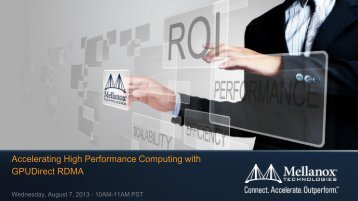 Accelerating High Performance Computing with GPUDirect RDMA