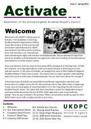 Activate Issue 3 Spring 20101.pdf - Birmingham Disability Resource ...