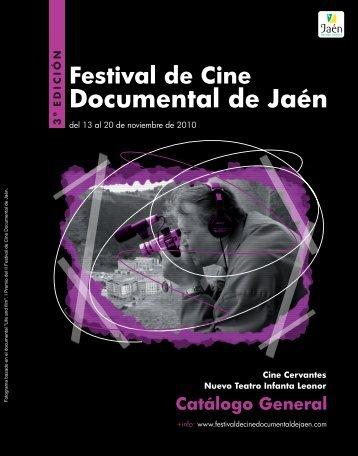 III Festival Cine Documental - Interior.cdr - Ayuntamiento de Jaén