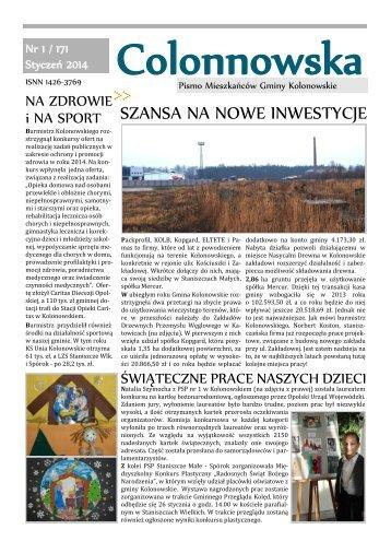 SZANSA NA NOWE INWESTYCJE - Miasto i Gmina Kolonowskie