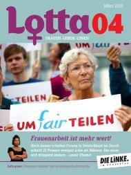 Frauenarbeit ist mehr wert! - DIE LINKE. Alexander Süßmair, MdB