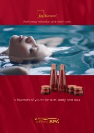 A fountain of youth for skin, body and soul