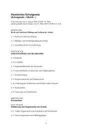Hessisches Schulgesetz