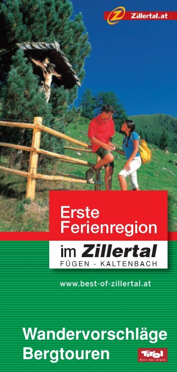 updated hiking-guide - Zillertal