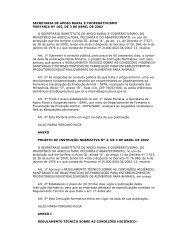 secretaria de apoio rural e cooperativismo portaria nº ... - CRMV-PR