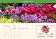 Entdecke die Schönsten Gärten - Gartenlust Oststeiermark