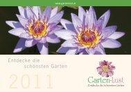 Garten-Lust Termine 2011 - Gartenlust Oststeiermark
