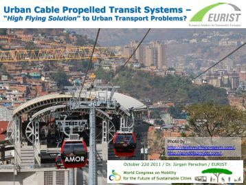 Urban Cable Propelled Transit Systems - Ecomobility Changwon 2011