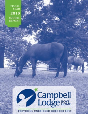 FISCAL YEAR ANNUAL REPORT - Campbell Lodge Boys Home