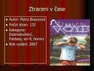 Ztraceni v čase - projekt21.cz