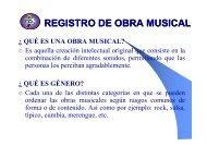 REGISTRO DE OBRA MUSICAL - Meduca