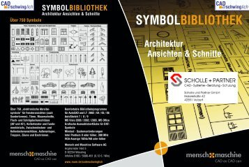 SYMBOLBIBLIOTHEK Architektur Ansichten & Schnitte