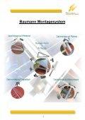 Baumann-Solartechnik Montagesystem 1-7 - Seite 3