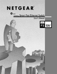 NETGEAR Model FS526T Smart Fast Ethernet Switch