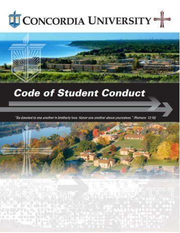 Student Handbook Fall 2012 Final - Concordia University Ann Arbor