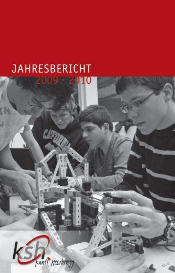 JAHRESBERICHT 2009 • 2010