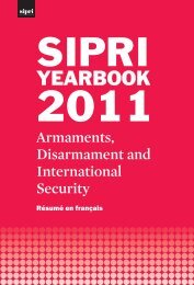 SIPRI Yearbook 2011