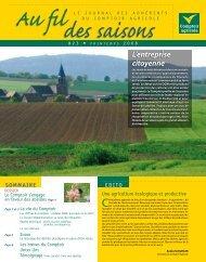Fil Des Saisons #23 Printemps 2008 - Comptoir Agricole