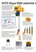 KITO Royal ER2 elektrisk kättingtelfer - PMH - Page 2