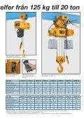 KITO Royal ER2 elektrisk kättingtelfer - PMH - Page 3