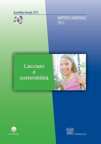 Rapporto Ambientale 2011 - Federacciai