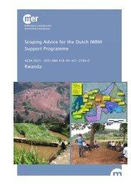 Scoping Advice for the Dutch IWRM Support Programme Rwanda