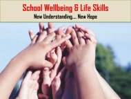 Wellbeing-and-lifeskills - School of Educators